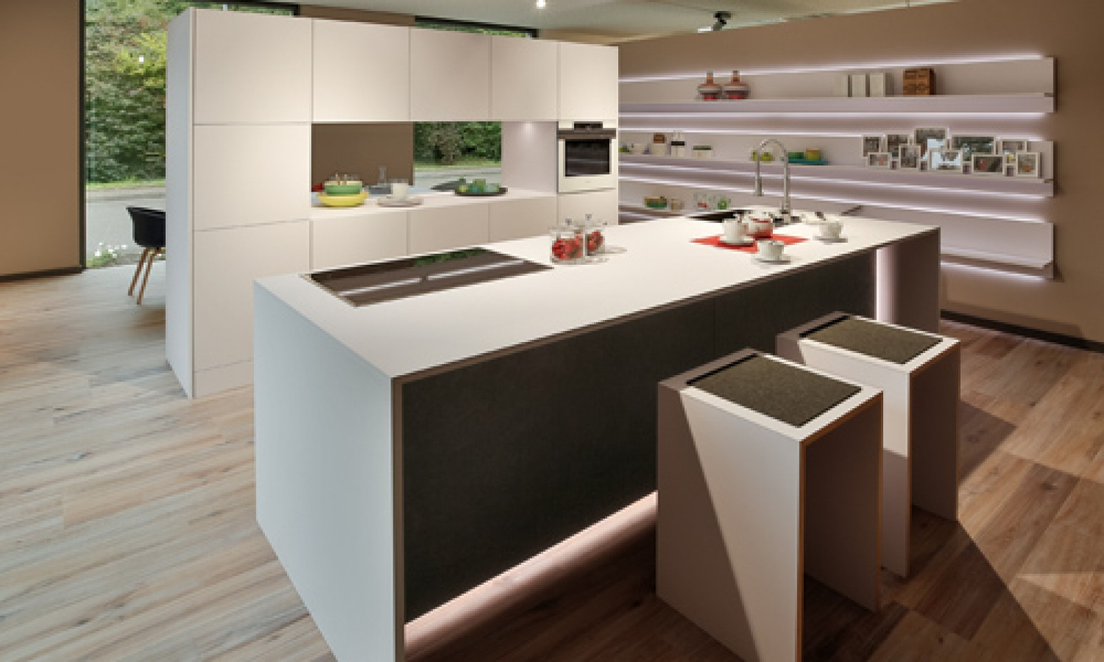 Beeindruckend Wohnwert Küchen Galerie Von Weiß Und Grau Sind Laut Rempp Noch